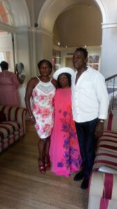 Yvonne and family