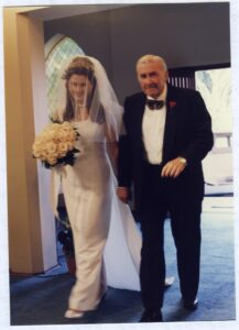 Clare and her father